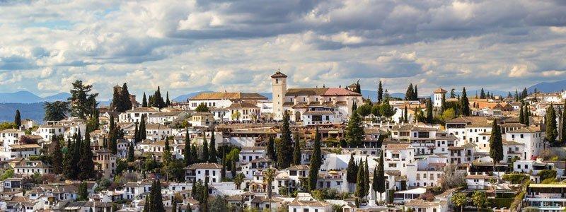 Barrio Albaicín vista panorámica